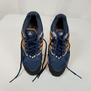 Adidas Women Navy and Orange T&F Shoes Size 6.5